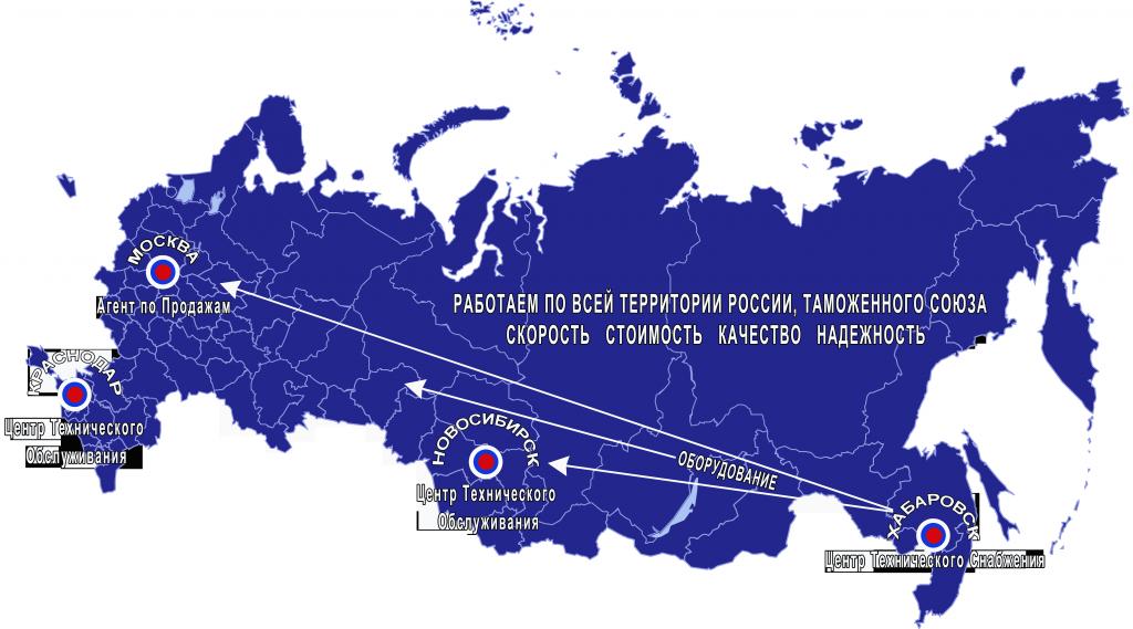 доставка по России рентгеновских генераторов Икс-Машин